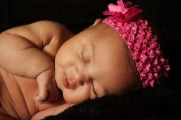 Sovende-jentebaby