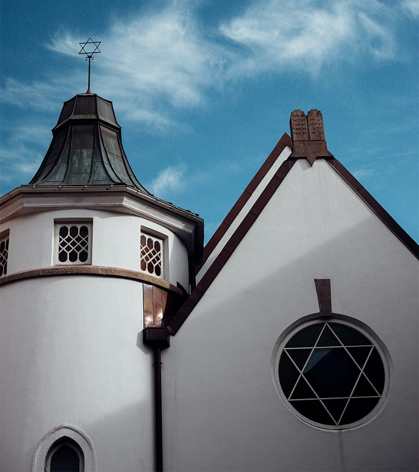 Synagogen-Oslo-Steintavlene