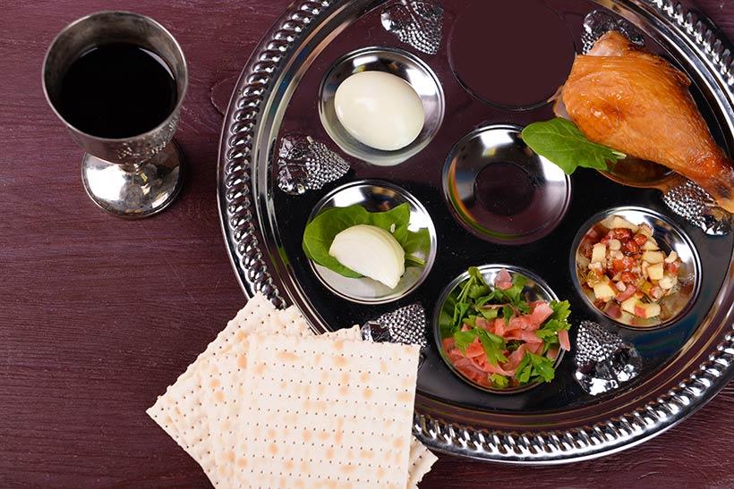 seder-tallerken-matsa-vin