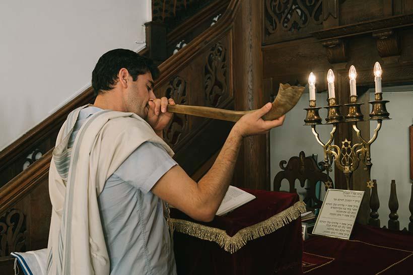 kantor-shofar-roshhashana-jødisk-nyttår
