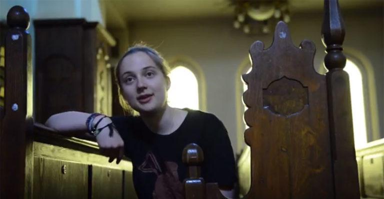 Ung jødisk jente i Norge