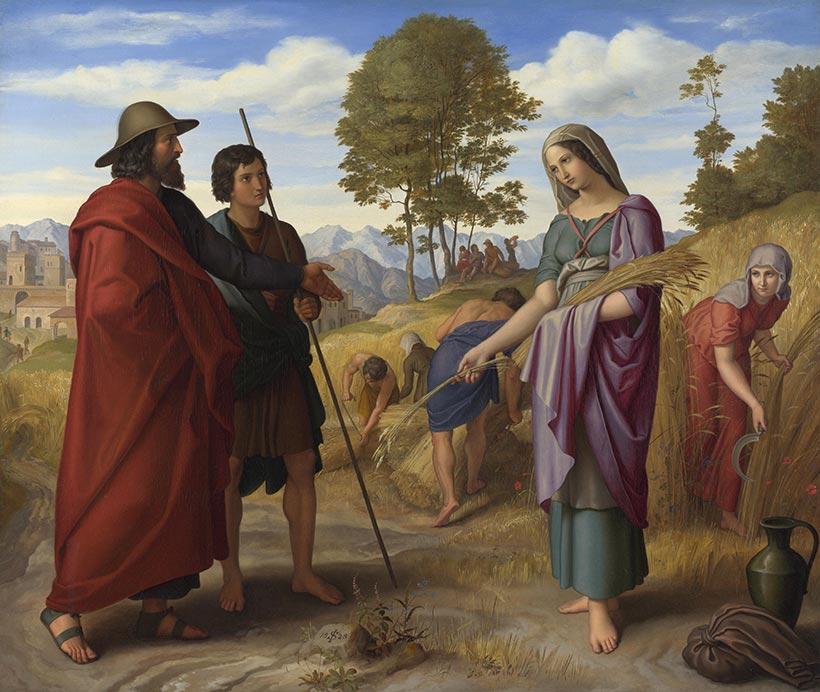 Julius-Schnorr-von-Carolsfeld-Ruth-im-Feld-des-Boaz