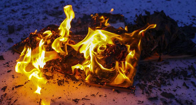 Brennende-bok