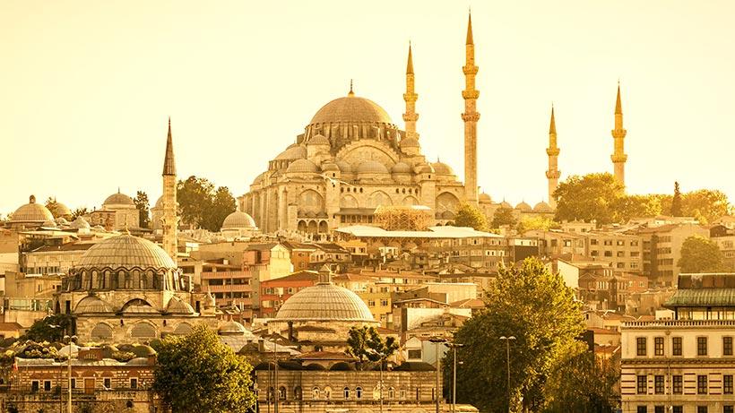 Istanbul-solskinn