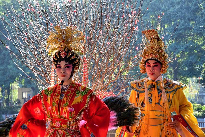 Kinesiske-operasangere