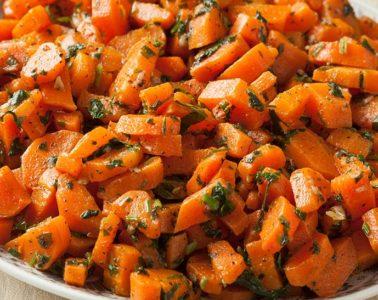 Marokkanske-gulrøtter