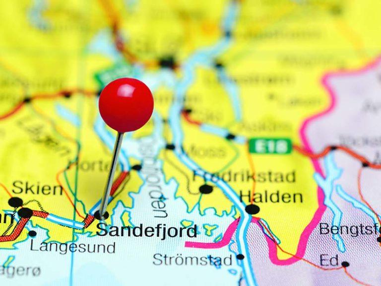 Sandefjord-kart